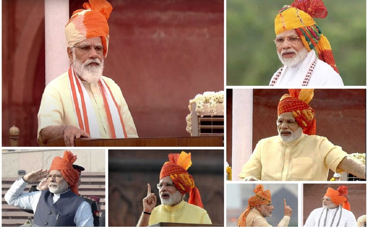 Narendra Modi's Independence Day Speech : From 2014 to 2019