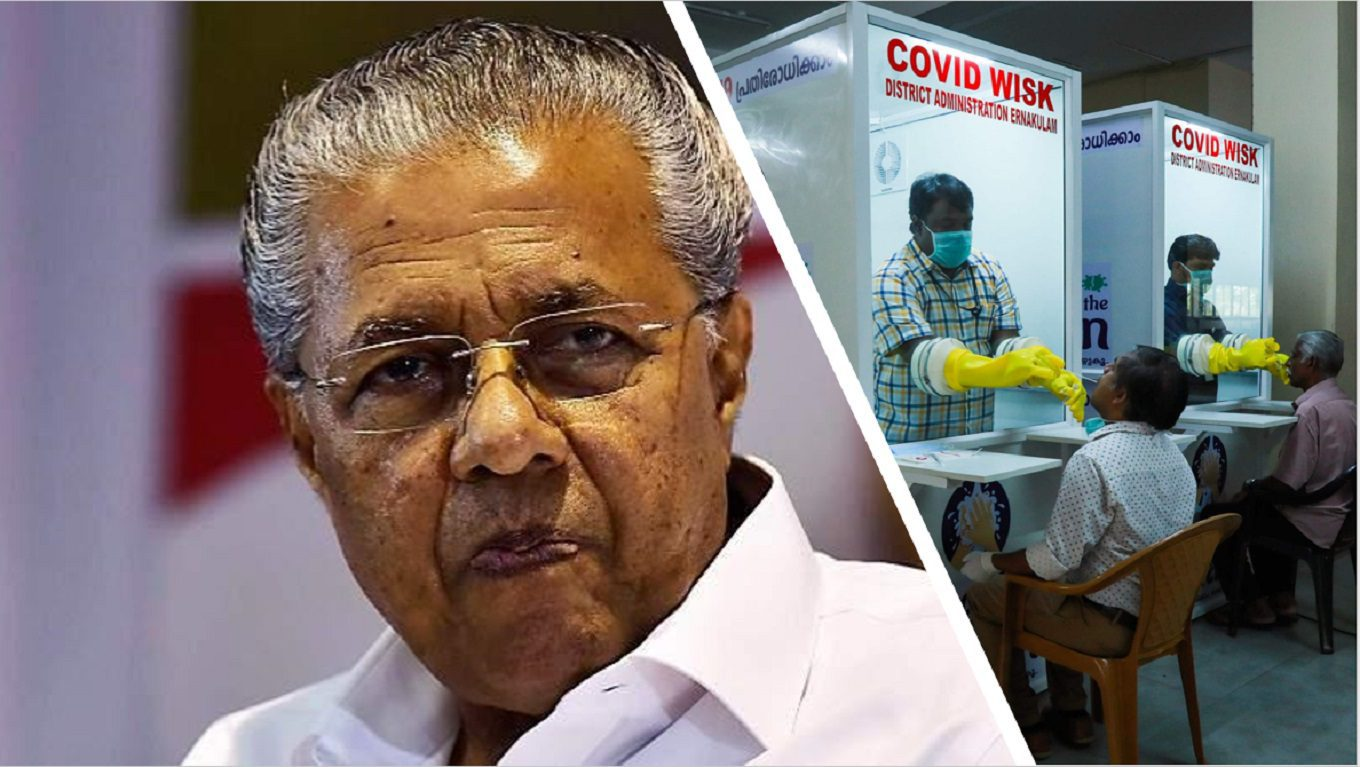 Kerala Coronavirus News : By Decreasing the Tests Number is Kerala Hiding its Failure?