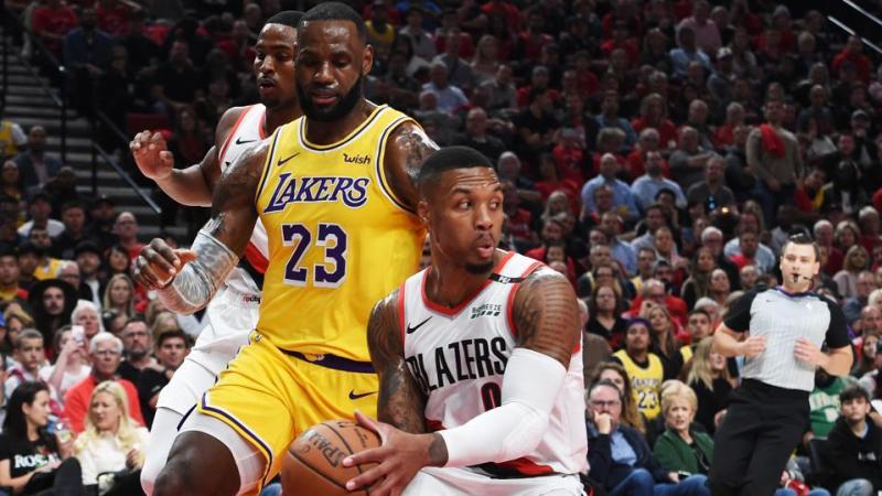 Los Angeles Lakers vs Portland Trail Blazers NBA Odds and Predictions:  Lakers vs Trail Blazers 26 February