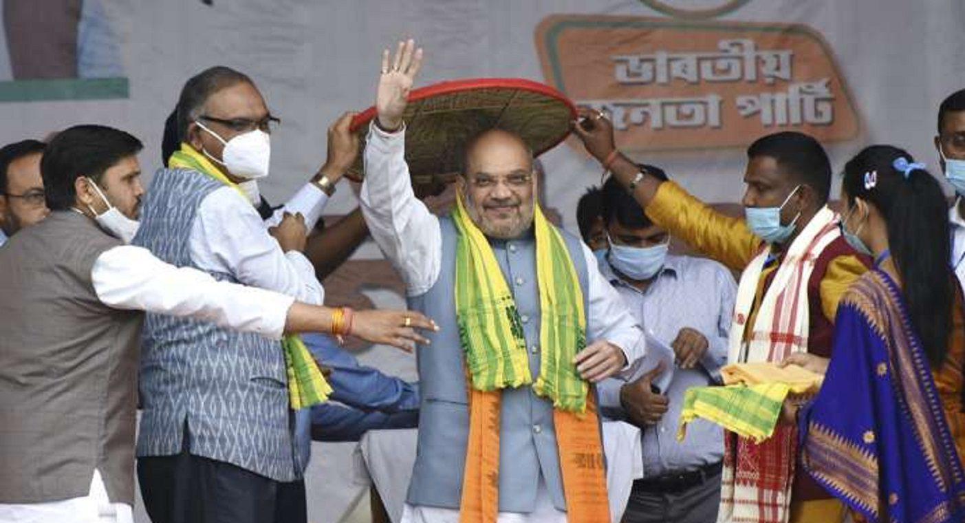 Assam Election Exit Poll 2021 : Will Congress, AIUDF Alliance Harm BJP in Assam?