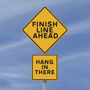 Image result for seeing the finish line ahead