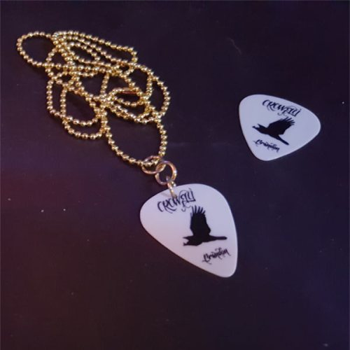 Crowfly Gold Necklace