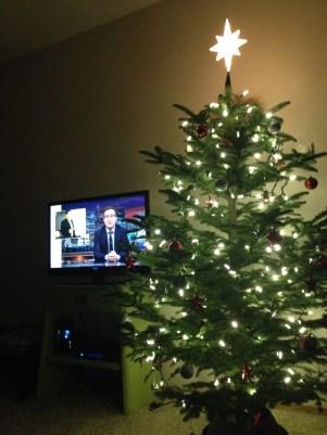 Starry Night Christmas Tree