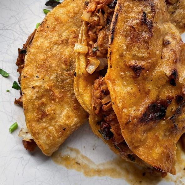 Jackfruit Birria Tacos