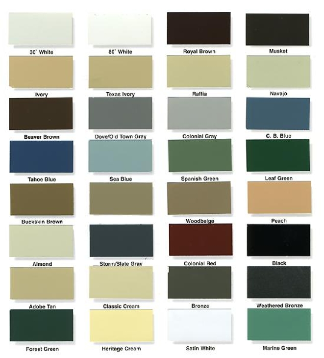 Alcoa Aluminum Soffit And Fascia Colors