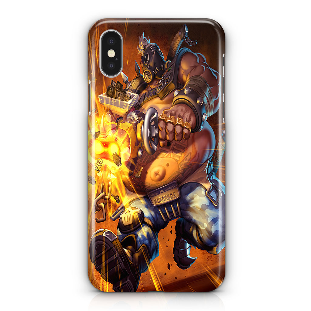 Overwatch Roadhog iPhone X   XR   XS   XS Max 3D Case – CROWNECASE