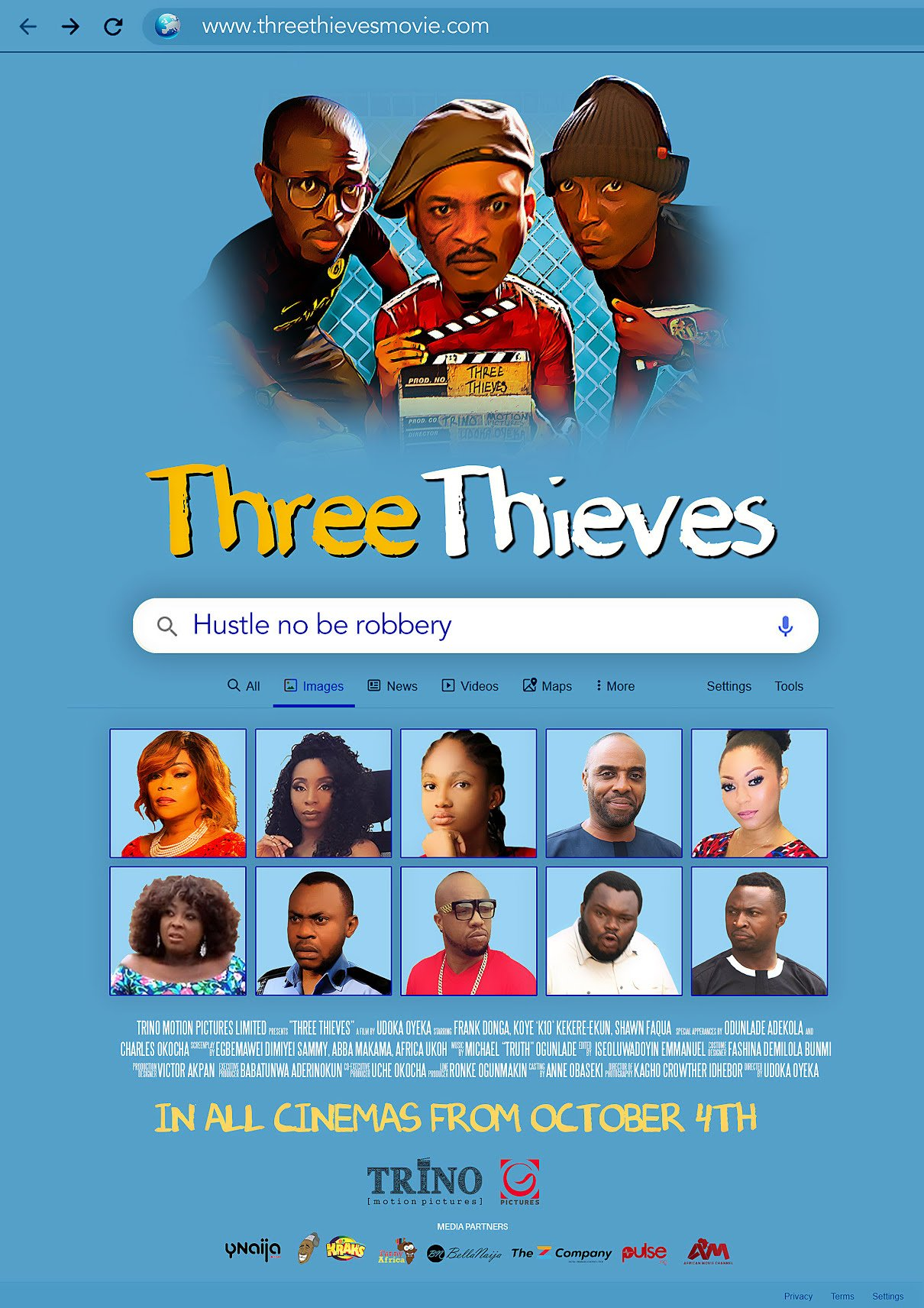 New Movie: Three Thieves