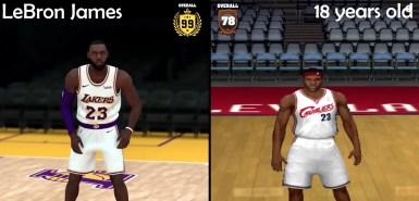 LeBron James NBA 2K