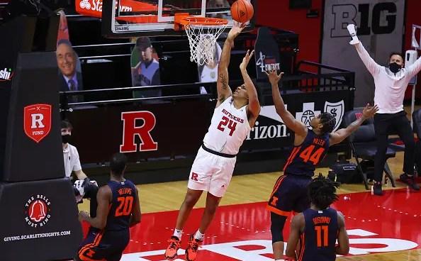 Ron Harper Jr. of Rutgers