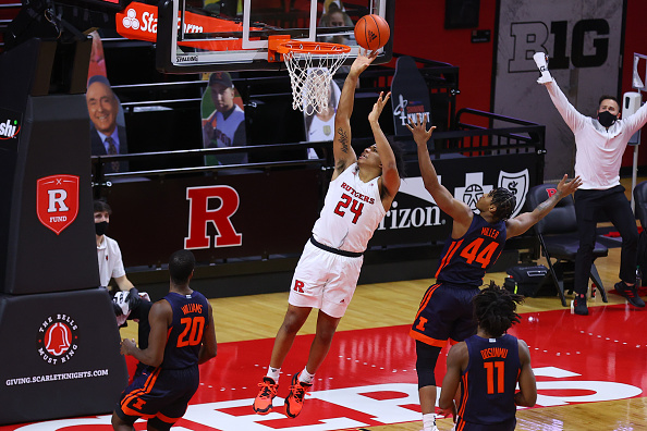 Ron Harper Jr. of Rutgers