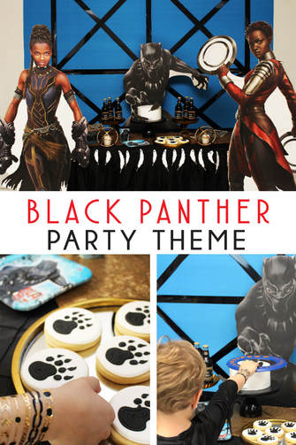 Black Panther Party Ideas Crowning Details