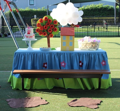 Peppa Pig Party Ideas Lila S Park Party Crowning Details