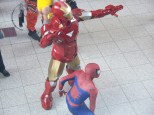 Iron Man and Spidey!
