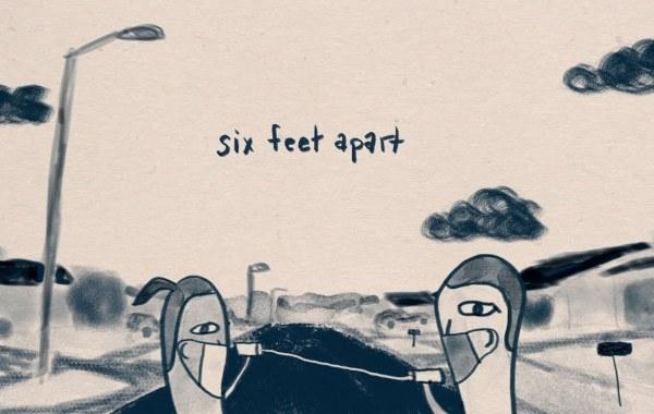 Alec Benjamin - Six Feet Apart lyrics