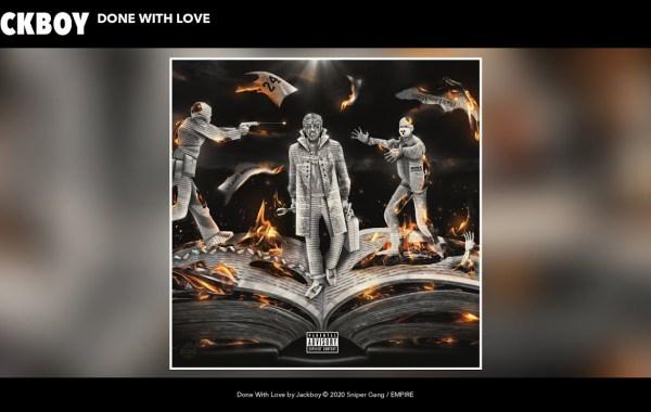 Jackboy - Done With Love lyrics