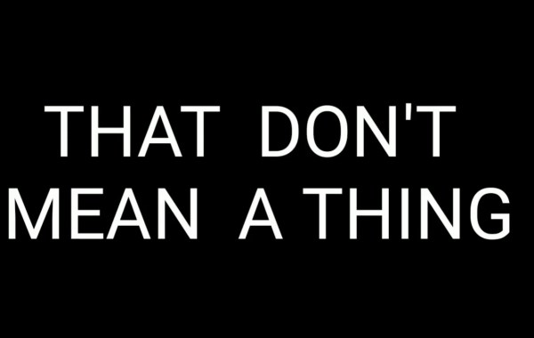 Kyle Dion - That Don't Mean A Thing lyrics