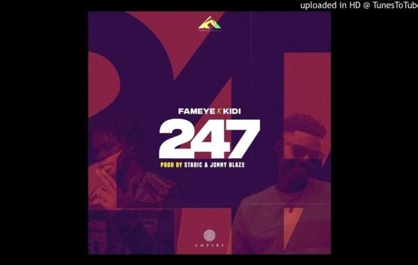 Fameye - 247 lyrics