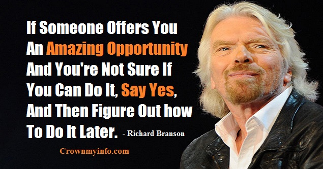Amazing Opportunity Quotes By Richard Branson