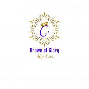Crown of Glory Logo natural hair, thinning hair, thicken hair, hair length, hair strengthening