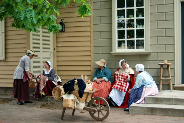 Williamsburg, Virginia. Colonial reenactors in Colonial Williamsburg will show visitors what it was like living in pre-Independence America, with wig shops, candle makers, and captivating demonstrations for all ages.