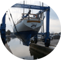 Travellift - Crown Pointe Marina Amenities