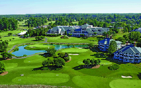At the popular Kingsmill resort and spa, visitors can escape into a round of golf on the immaculately maintained green or take advantage of the resort's other relaxing options.