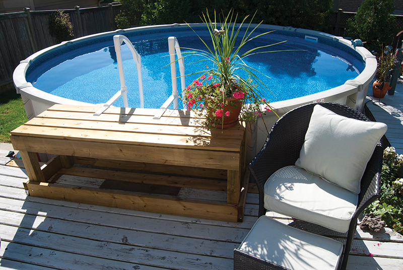 Above Ground Swimming Pools Crown Spas Amp Pools Winnipeg
