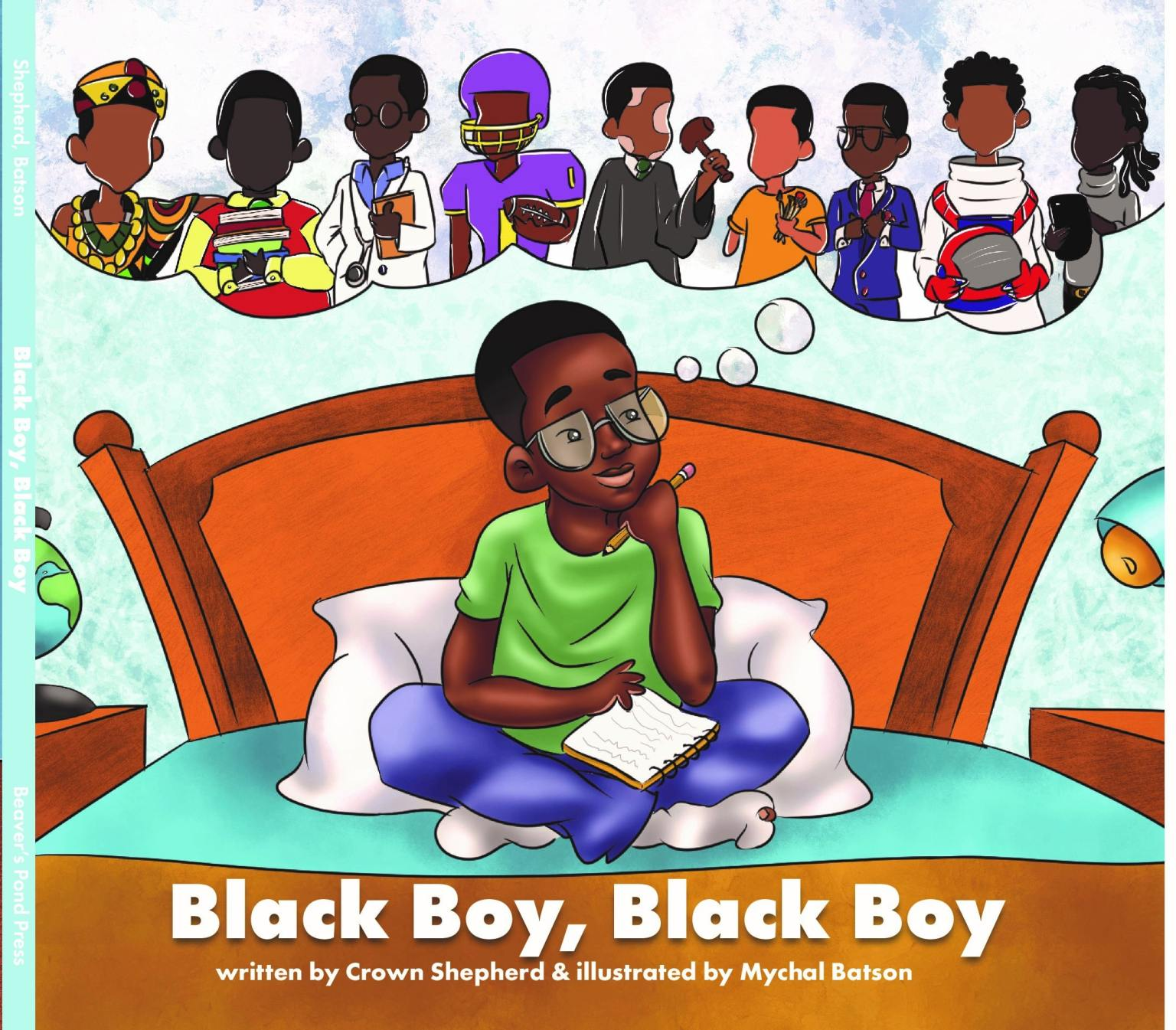 Cover of Black Boy, Black Boy Cover of Black Boy, Black Boy. Author Crown The Writer