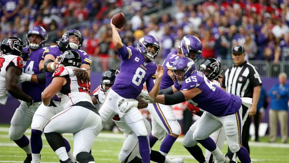 The Minnesota Vikings' 2020 win total will rely heavily on Kirk Cousins