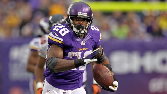 2015 first pick Adrian Peterson