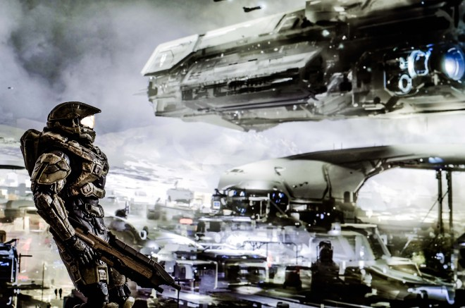 Master Chief on Meridian