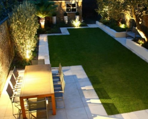 Garden Lighting by Simpsons Lighting and Electrical