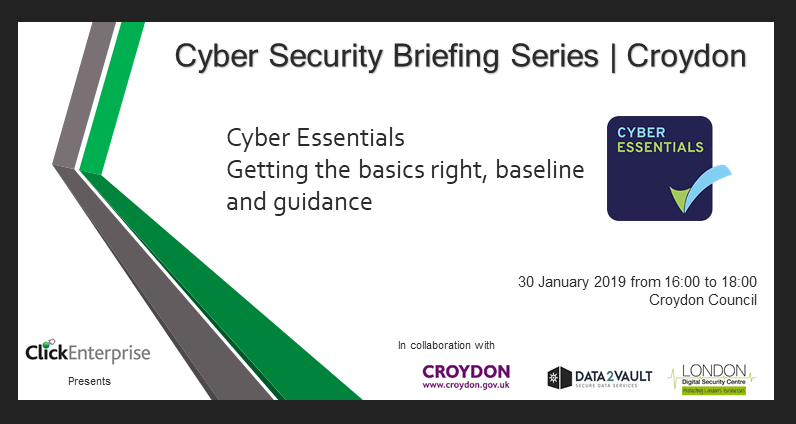 Free cyber security briefings for Croydon businesses