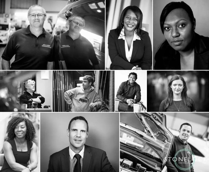 Corporate business headshot photography in a studio or on location in Croydon and London