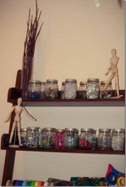 Art studio supplies