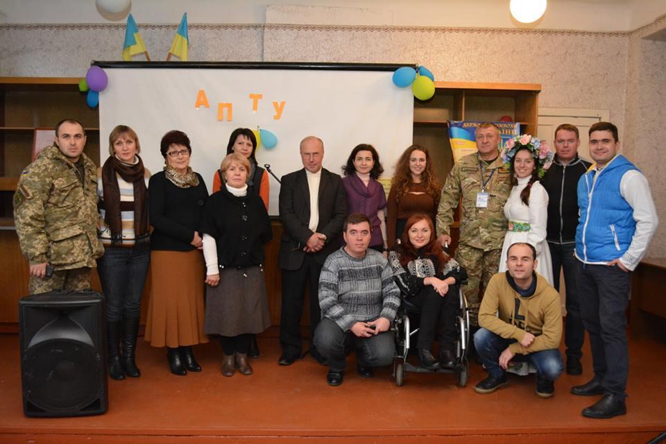 ХСП долучилась до організації волонтерсько-мистецької місії Творчої сотні «Рух до перемоги» у прифронтовій зоні