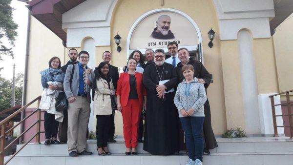 Відбулась зустріч братів-капуцинів та служителів Християнської Служби Порятунку з делегацією Американської Єпископської Конференції