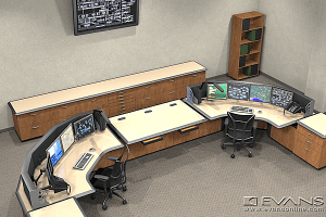 Gas System Control consoles