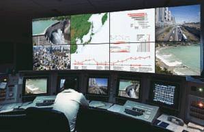 Mitsubishi display walls for control rooms