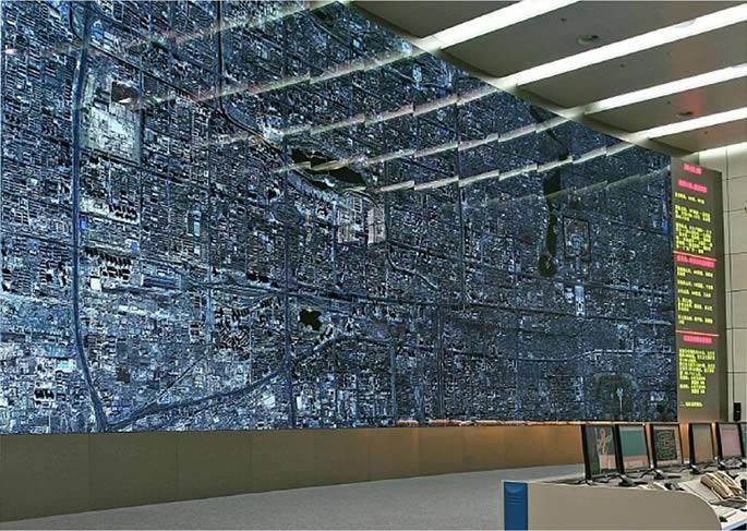 Jupiter control room large video all