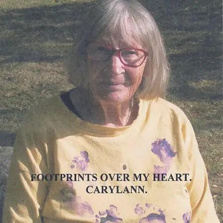 5DD560 – Carylann – Footprints Over My Heart - Cover
