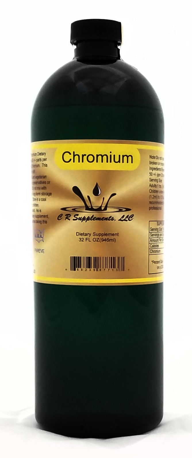 Chromium By C R Supplements, LLC