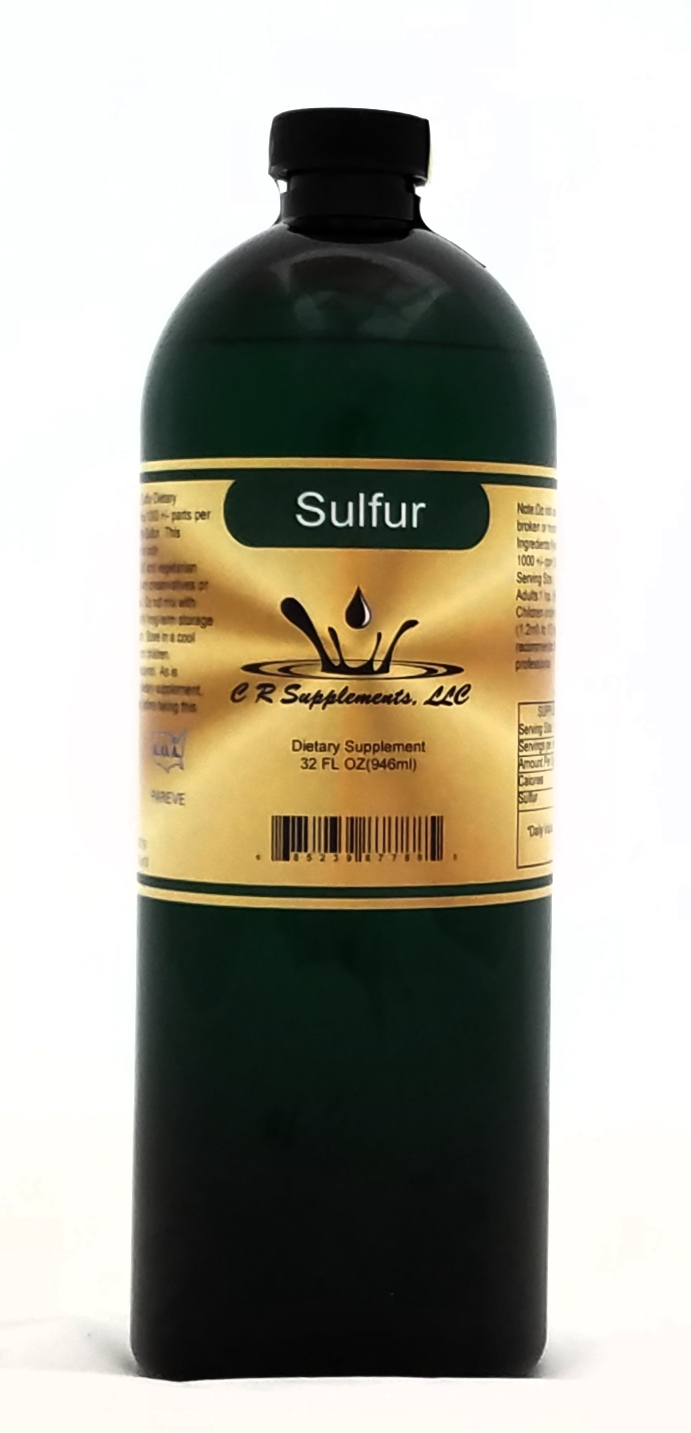 Sulfur Dietary Supplement