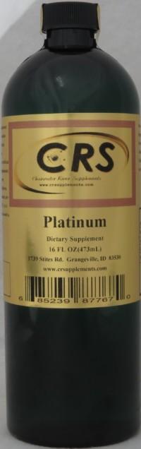 Platinum Dietary Supplement