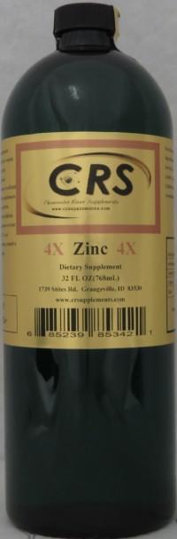 Zinc 4x Dietary Supplement