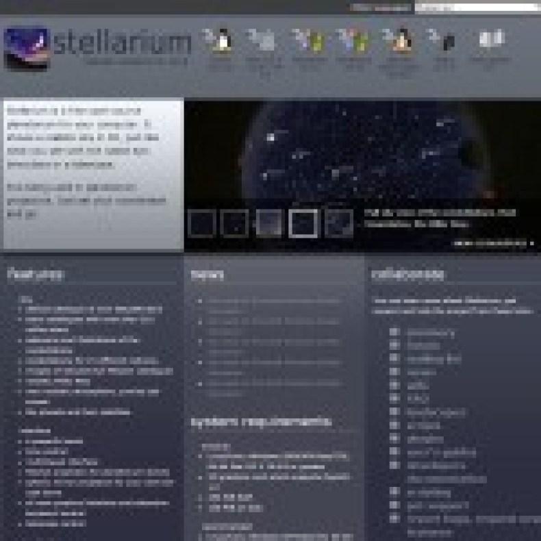 screenshot stellarium