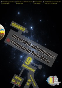 observatii astronomice la planetariul baia mare