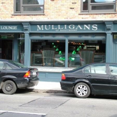 Mulligans Pub.