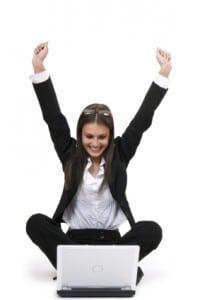 Woman-Laptop-Successful-credit-repair