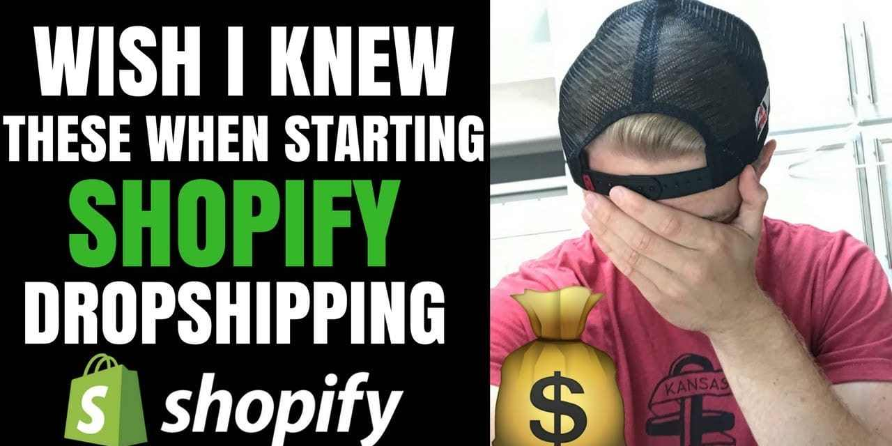 What I Wish I Knew When Starting Shopify Dropshipping (Beginner Advice)